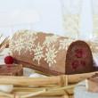 Offre bûche de Noël décor laponie FLEXIPAN® INSPIRATION