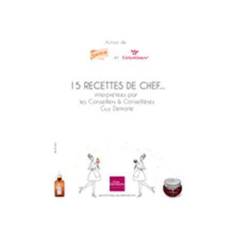 Livret cointreau - Livre de cuisine Guy Demarle