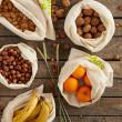 Pochon à légumes en tissu Bio