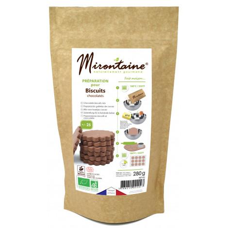 Préparation bio Biscuits chocolatés 280g