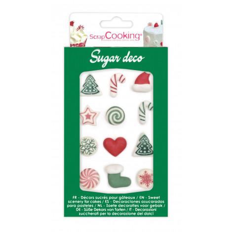 """Décors en sucre """"Sweet Xmas"""""""