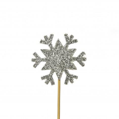Lot de 12 décorations : Etoiles dorées, 6,5 cm