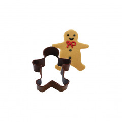 Mini découpoir bonhomme de pain d'épices 3,8 cm
