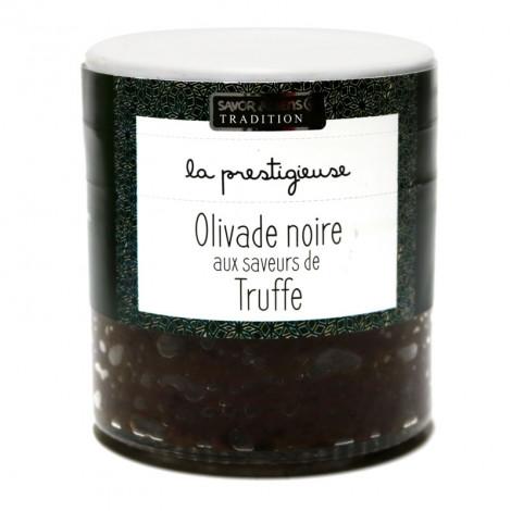 Olivade Noire aux saveurs de Truffe 100g