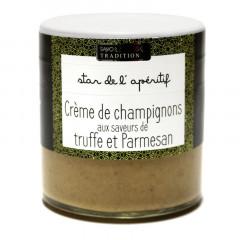 Crème de Champignon, aux brisures de Truffe noire & Parmesan 100g