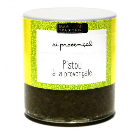 Pistou à la provençale (Basilic, huile d'olive, ail) 100g