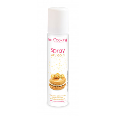 Spray alimentaire or 75 ml