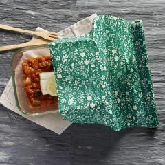 Rouleau emballage alimentaire réutilisables à la cire d'abeille