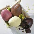 Kit Oeuf de Pâques FLEXIPAN® INSPIRATION Chocolat blanc