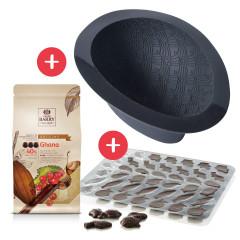 Kit Oeuf de Pâques FLEXIPAN® INSPIRATION Chocolat au lait