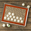 Toile SILPAT® Macarons - Toile de cuisson Guy Demarle