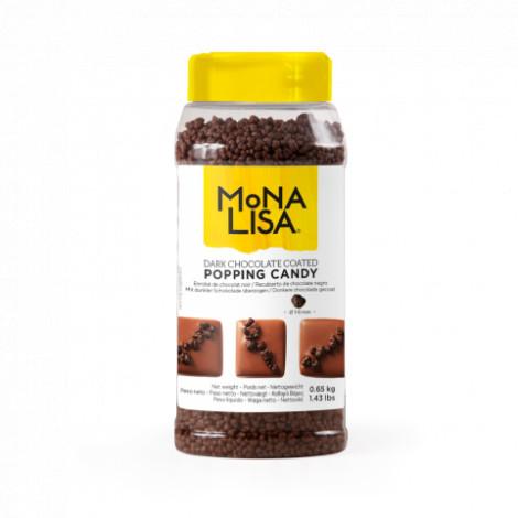 Enrobé de Chocolat noir pétillant pour décors : Popping Candy