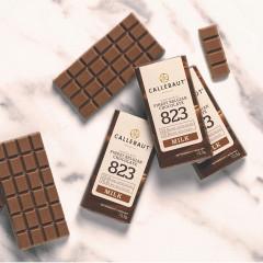 Minis tablettes - Napolitains chocolat au lait - 13,5G - 75 pièces