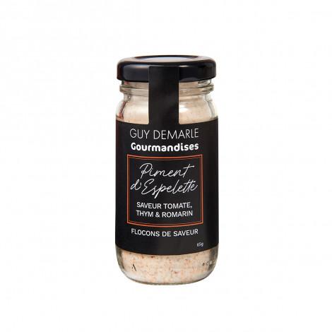 Flocons de saveur - Piment d'Espelette, Tomate, Thym & Romarin