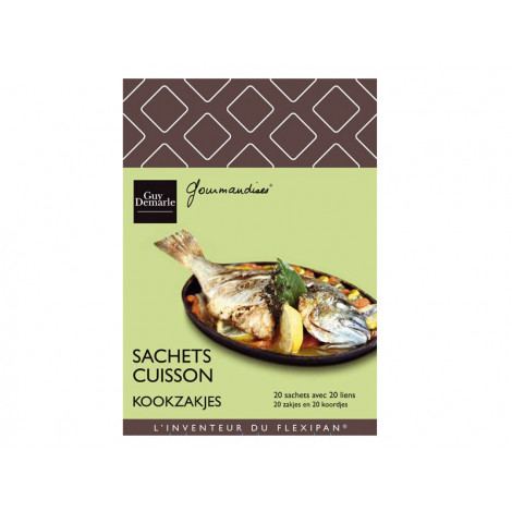 Lot de 20 sachets de cuisson - Ustensile Guy Demarle