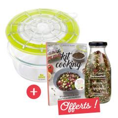 Offre récipients marinade légumes Be Save®