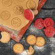 Coffret tampon à Biscuits
