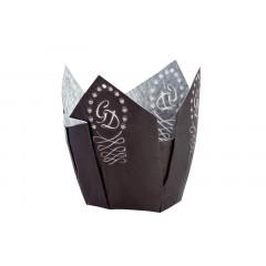 Lot de 100 caissettes en papier 5 cm - Ustensile Guy Demarle