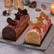 Décors pour bûche – Transfert à base de beurre de cacao et colorants naturels
