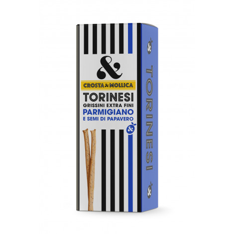 Gressins Crosta & Mollica Torinesi Parmigiano 12, 120 g