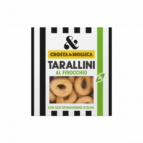 "Gressins ronds ""Tarallini"" au fenouille, 170g"