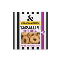 "Gressins ronds ""Tarallini"" multi créréales, 8, 170g"