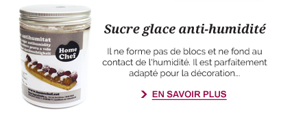Sucre glace anti-humidité
