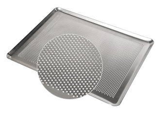 Plaque aluminium perforée