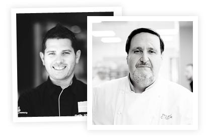 Chefs : Maëlig Georgelin et Philippe Conticini