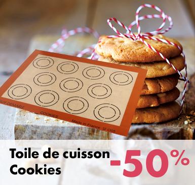 Toile de cuisson Cookies -50%