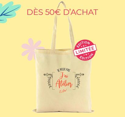 DÈS 50€ D'ACHAT - Totebag