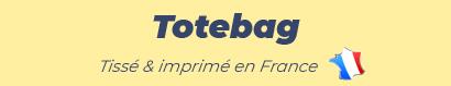 Totebag tissé & imprimé en France