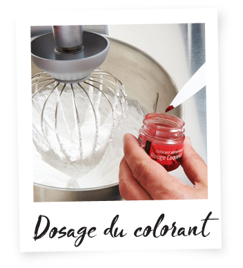 Dosage du colorant