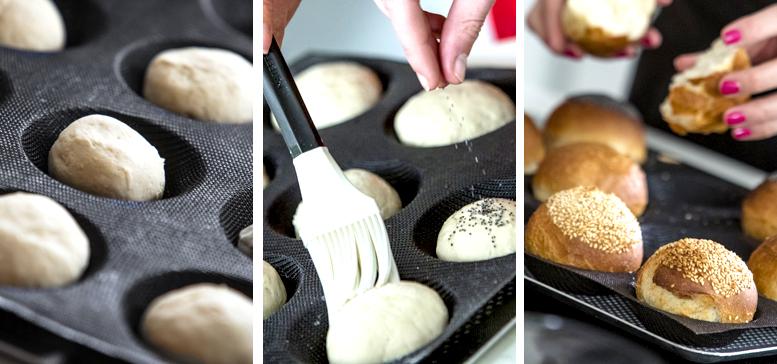 Cuisson des pains au four