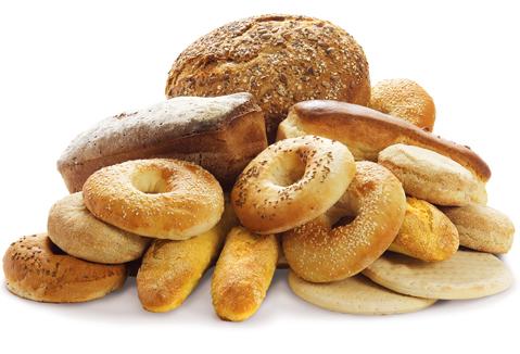 Différentes formes de pain