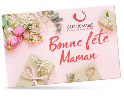Carte cadeau 'Bonne fête maman'