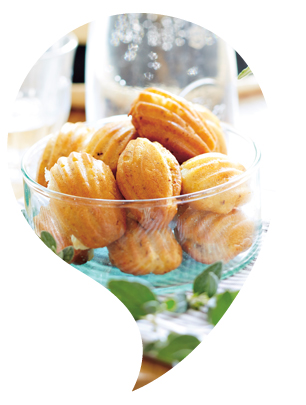 Madeleines traditionnelles