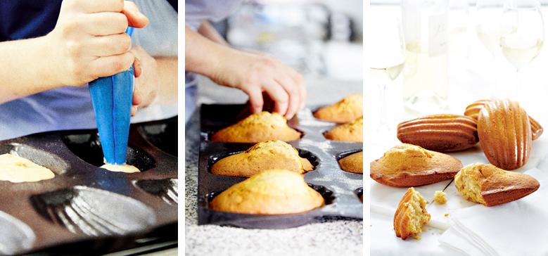Étape par étape, réalisez de délicieuses madeleines !