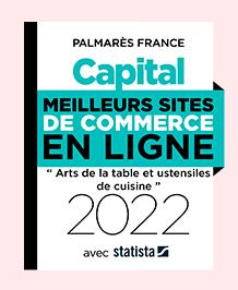 Palmarès Capital - Meilleurs sites de commerce en ligne 2020