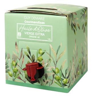 Bag-in-box 1,5L huile d'olive Guy Demarle