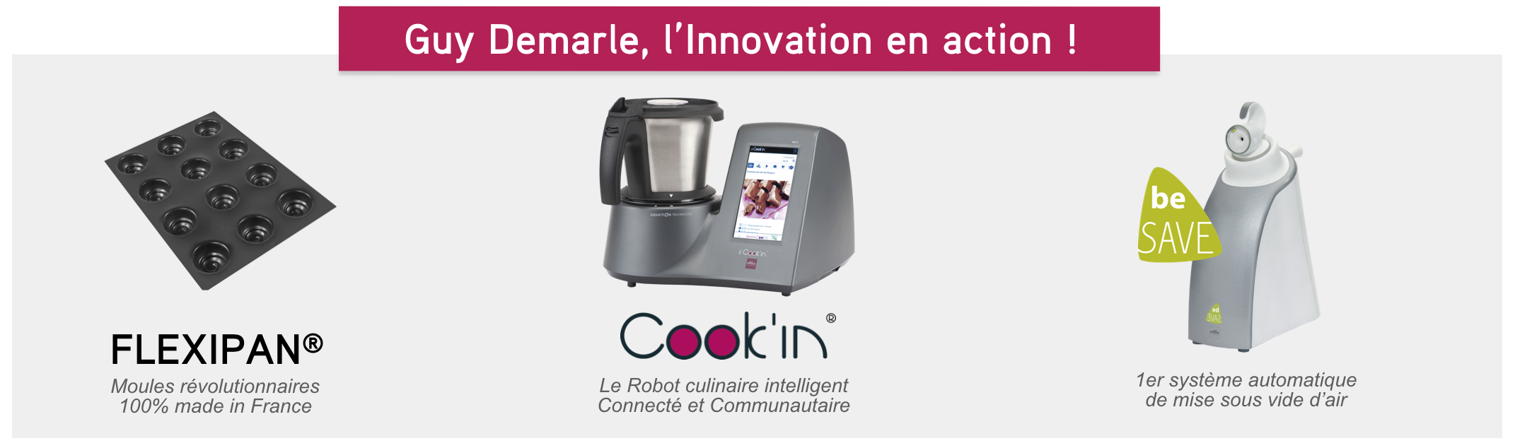 Guy Demarle, l'innovation en action !