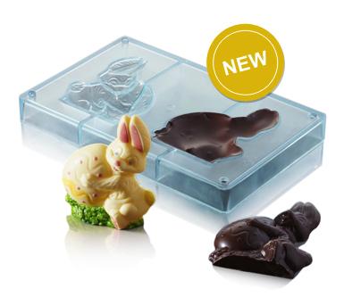 Moule à chocolat Lapin & oeuf