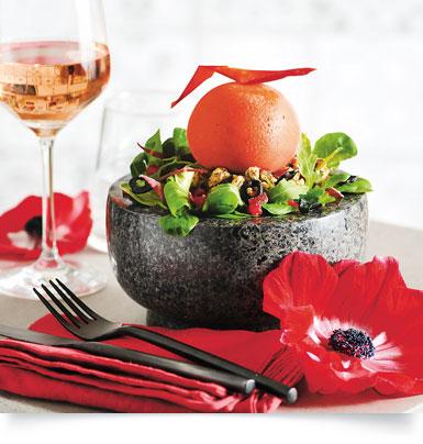 Sorbet de poivron rouge grillé