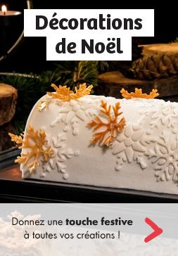 DÉCORATIONS DE NOËL - Donnez une touche festive à toutes vos créations !