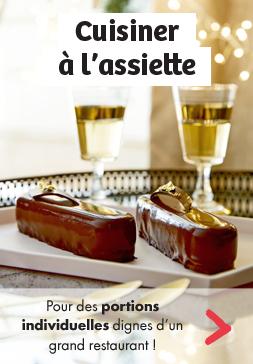 CUISINER À L'ASSIETTE - Pour des portions individuelles dignes d'un grand restaurant !