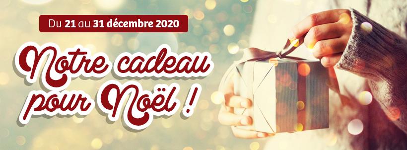 Du 21 au 31 décembre 2020 - NOTRE CADEAU POUR NOËL !
