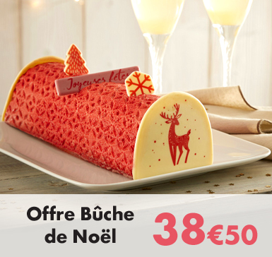 Offre Bûche de Noël - 38€50