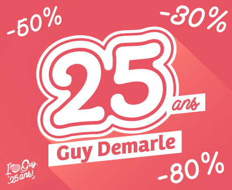 25 ANS GUY DEMARLE