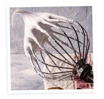 Monter les blancs d'oeuf en neige