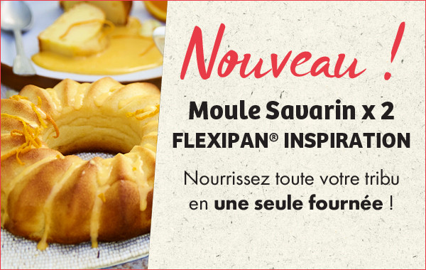Moule Savarin x 2 FLEXIPAN® ORIGINE